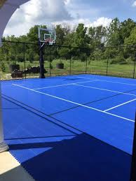Backyard Sports Court by Snapsports Basketball Courts Athletic Courts