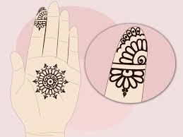 Step Design by How To Design A Simple Indian Engagement Mehndi 12 Steps