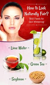 how to whiten skin naturally with top 8 super foods