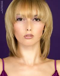 medium length trendy hairstyles blonde medium length hairstyle with soft contours and transitions