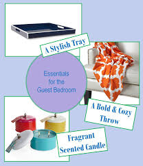 Guest Bedroom Essentials - guest room essentials confettistyle