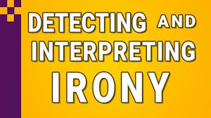 Ereading Worksheets Point Of View Irony Detecting And Interpreting Youtube