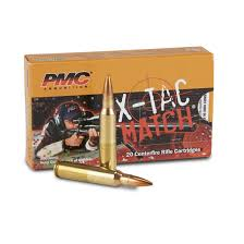 pmc x tac 223 rem sierra match 77 grain otm 20 rounds