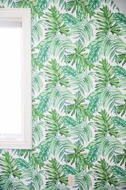 Temp Wallpaper by Palm Leaf Temporary Wallpaper Video Daily Dose Of Charm