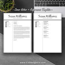 best selling professional resume template elegant resume design