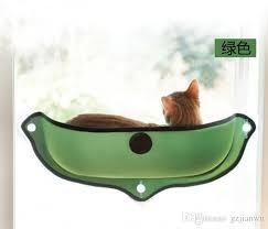 puppy pet hammock suction pad window mounted cat bed sunny seat