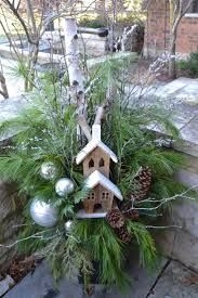 346 best winter containers images on pinterest christmas urns
