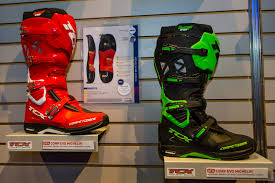 fox comp 5 motocross boots boots 2015 american international motorcycle expo day one