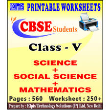 05 worksheets for maths and science download link