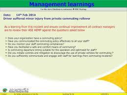 Commuting Is by It U0027s Proven It Safer To Use Pdo Approved Bus Ppt Download