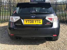 subaru hatchback impreza used 2008 subaru wrx sti 2 5 impreza type uk hatchback remapped