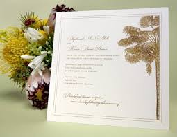 palm tree wedding invitations destination wedding invitations timeline