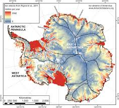Continents And Oceans Of The World Map by Antarctica Antarcticglaciers Org