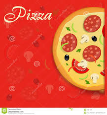 pizza menu template vector illustration royalty free stock photo