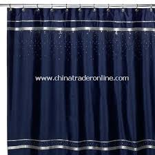 wholesale croscill glow fabric shower curtain navy buy discount