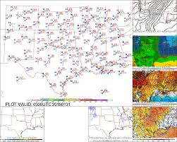Weather Map Us Southern Us Weather Page Crown Weather Services Your One Stop