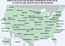 atlanta city us map major cities in the usa enchantedlearningcom major cities map of