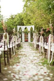 Garden Wedding Ceremony Ideas Such An Enchanting Garden Wedding Ceremony Setup Wedding