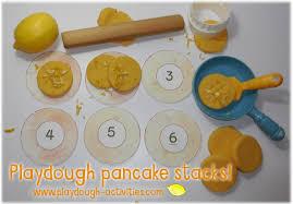 printable playdough recipes lemon pancake playdough recipe and preschool printables