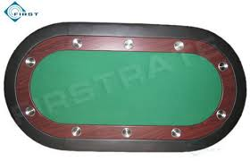 Table Top Poker Table Oval Poker Table Top With Cup Holder