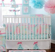 Infant Crib Bedding Pixie Baby Crib Bedding Set In Aqua By My Baby Sam