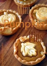 mini pumpkin pies and a blooming can u2013 home is where the boat is