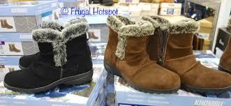 khombu womens boots sale costco sale khombu boots 19 99 frugal hotspot