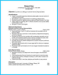 Resume Sample Bilingual Skills by Cv Template Call Centre Agent
