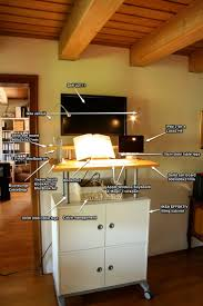 Standing Reception Desk by Diy 45 Httpoffice Turn Comwp Contentuploads201206xcp