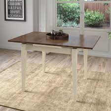 expanding dining table walker edison furniture company millwright antique brown