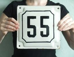 large metal house numbers foter