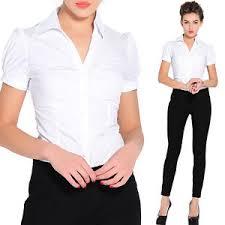 formal blouse smart work office formal fitted bodysuit wear