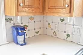 painting kitchen backsplash how to paint kitchen backsplash tile at s house