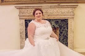 wedding dresses for larger brides shaming inspires entrepreneur to launch range of wedding