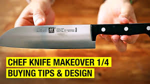 Basic Kitchen Knives How To Re Design A Chef Knife Chef Knife Makeover 1 4 Youtube