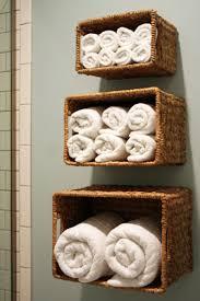bathroom towel ideas bathroom towel storage 12 creative inexpensive ideas