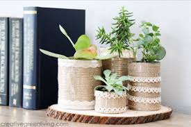 succulent planters make recycled succulent planters creative green living