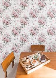 vintage floral wallpaper removable wall mural vintage