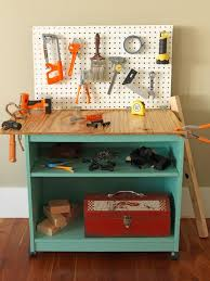 Tool Bench Plans How To Turn Old Furniture Into A Kids U0027 Toy Workbench How Tos Diy