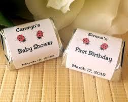ladybug baby shower favors ladybug baby shower etsy
