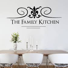 family kitchen wall sticker wall stickers