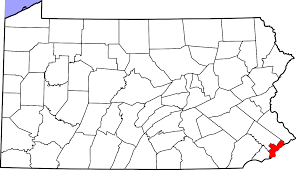 Maps Of Pennsylvania by File Map Of Pennsylvania Highlighting Philadelphia County Svg