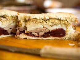 chefs and food on the ultimate thanksgiving sandwich