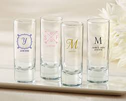 wedding favor glasses personalized glass wedding my wedding favors