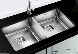 franke stainless steel undermount double bowl kitchen sinks