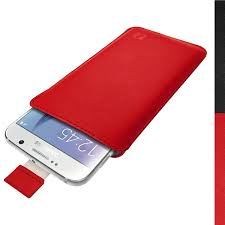 Htc Wildfire Cases Ebay by Igadgitz Red Premium Pouch Sleeve Leather Case Cover For Samsung