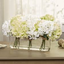 white flower centerpieces flower centerpieces you ll wayfair