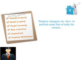 property management services a complete list
