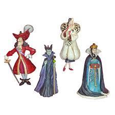 your wdw store disney ornament set jim shore disney villains
