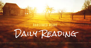 daily readings ransomed heart